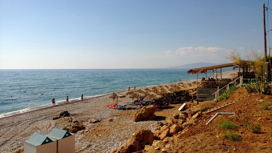 Messina Resort Hotel : Пляж