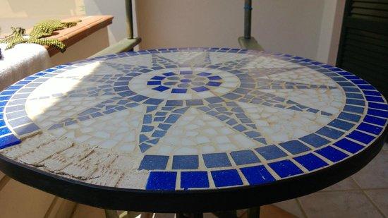 Messina Resort Hotel : Наш столик на веранде