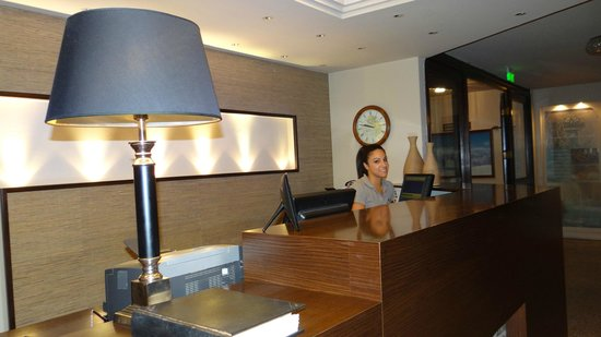 Portaria Hotel : The reception