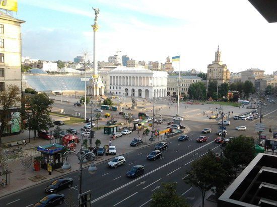 Khreschatyk Hotel : View from our hotel room (4th floor)