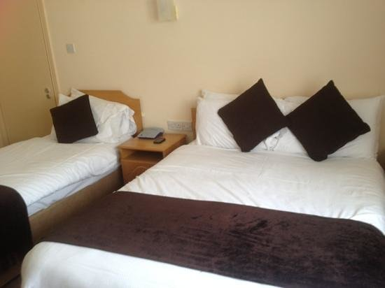 Castlerosse Hotel & Holiday Homes: two of three beds in our room.