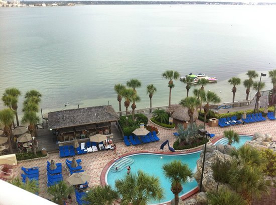 Clearwater Beach Marriott Suites on Sand Key: View from our room