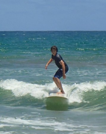 Learn to Surf: Not Kelly Slater yet but having a blast