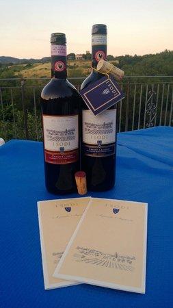 Agriturismo Le Trappoline: Isodi Wines