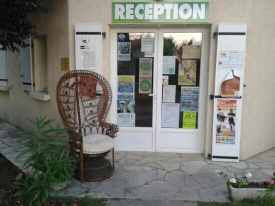 Camping L'Estival: reception du camping