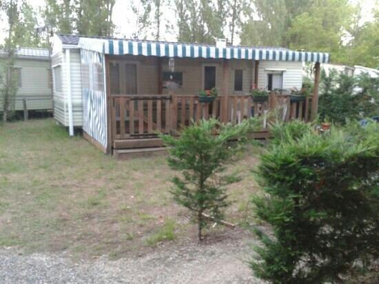 Camping L'Estival: mobil home
