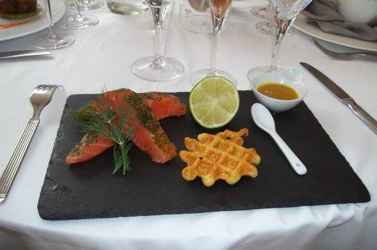 Restaurant La Lieutenance : petite entrée