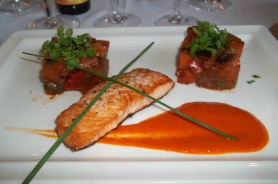 Restaurant La Lieutenance : un regal pour les yeux