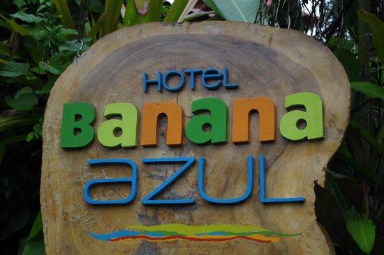 Hotel Banana Azul: logo