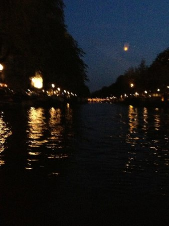 Holland International Canal Cruises: candlelight cruise