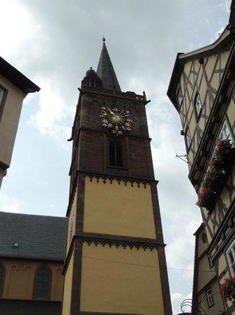 Evangelische Stiftskirche: Clock Tower