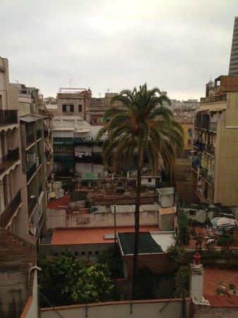 Palou Suites Ramblas: View from Balcony. :)