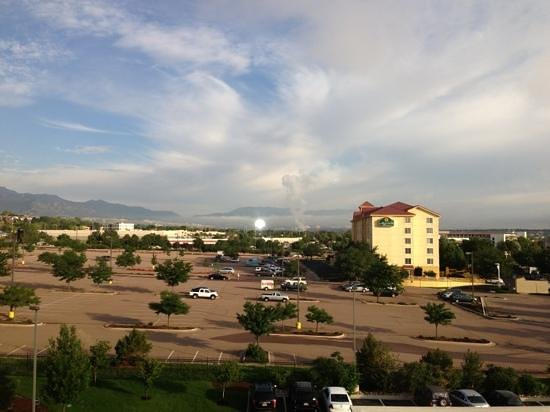 Hampton Inn & Suites Colorado Springs/I-25 South: from room 428