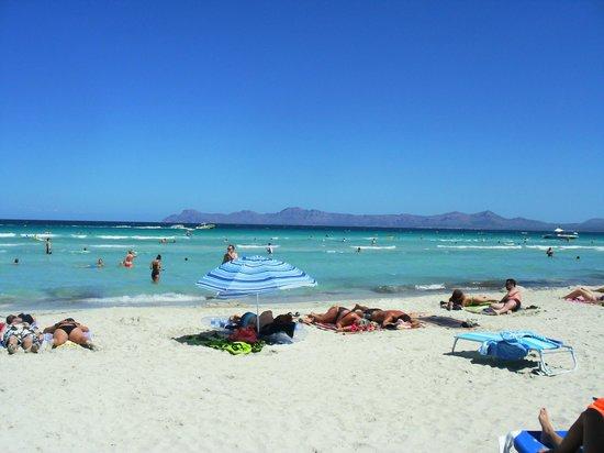 Eix Lagotel Playa De Muro Beach