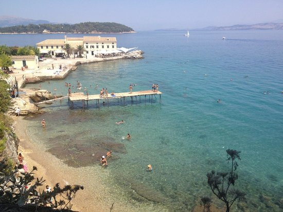 Iliada Beach Hotel : Corfu town which is a nice cheap bus ride away