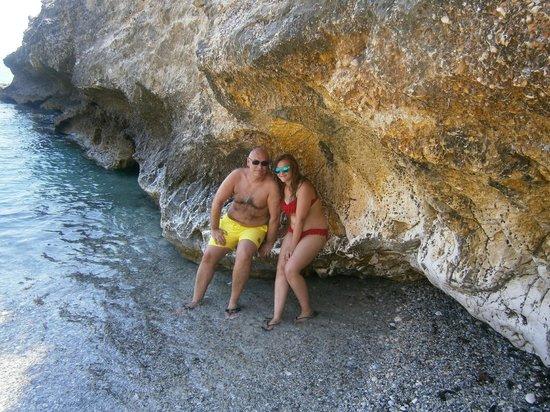 Pelagos Bay Hotel : pelagos bay's beach