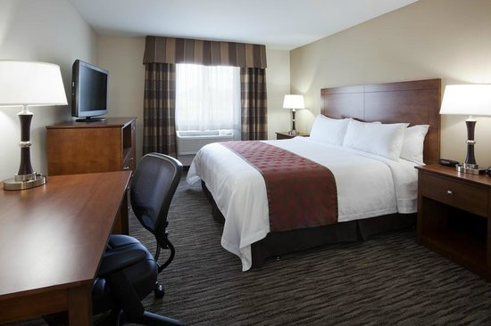 GrandStay Hotel & Suites Parkers Prairie : King Guestroom with Flat Panel TV, Cable and Free Wi-Fi