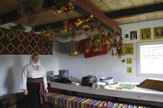 Ukrainian Cultural Heritage Village: Farm house