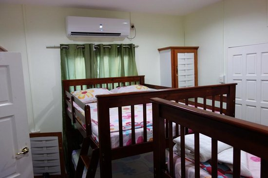 Bedroom of Miller's Guest House in Bucco village Tobago