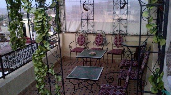 Dar Hafsa : Terrasse