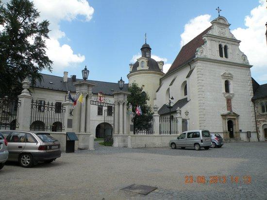 Olomouc Town Hall: На городской улице