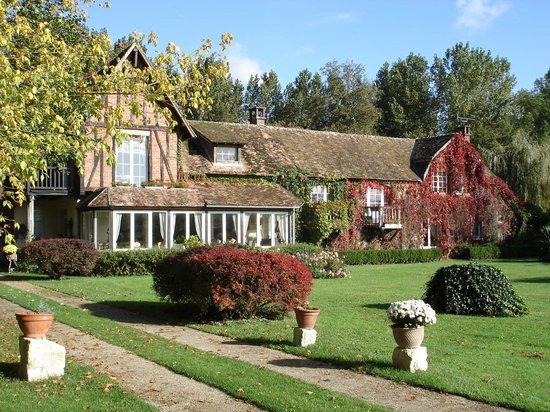 Le Moulin de Villez : vue automne