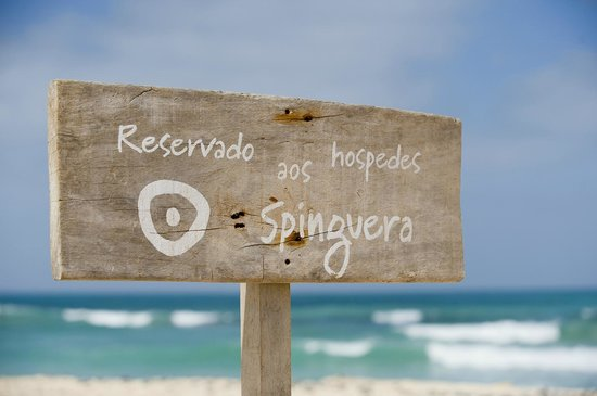 Hotel Spinguera Ecolodge : On the beach