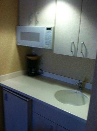 Golden Inn Hotel: Clean Kitchenette in basic double room