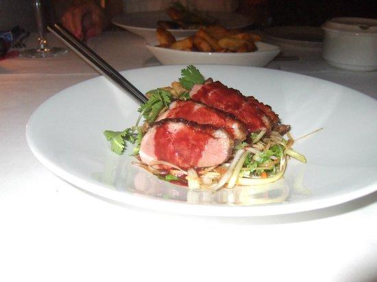 Hotel La tartana: asian duck