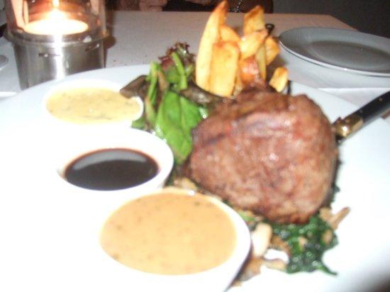 Hotel La tartana: fillet steak
