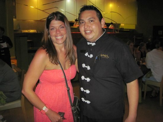 The Royal Playa del Carmen: Daniel & I-find him to be your server @ Asiana's!