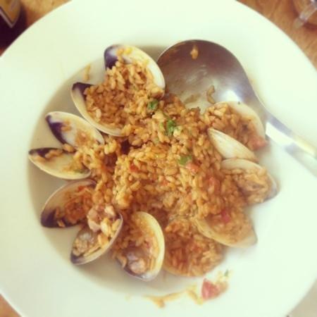 Muelle3: arroz de mar/ sea rice
