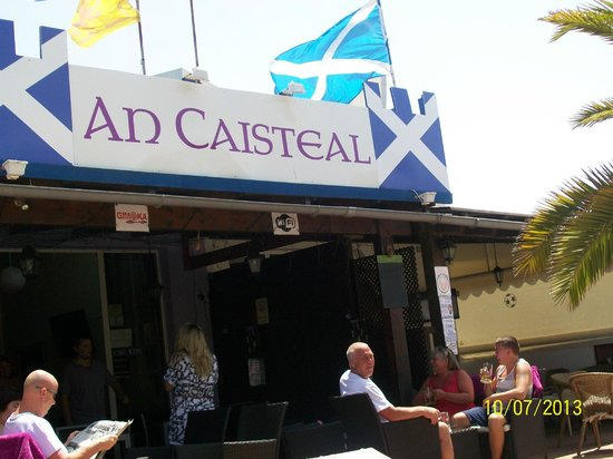 An Caisteal : the local