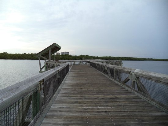 John D. MacArthur Beach State Park: Boardwalk
