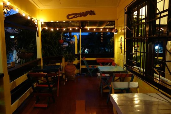 Terrace in Guesthouse TwenTy4 Paramaribo city