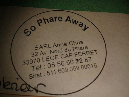 So Phare Away : les coordonnées