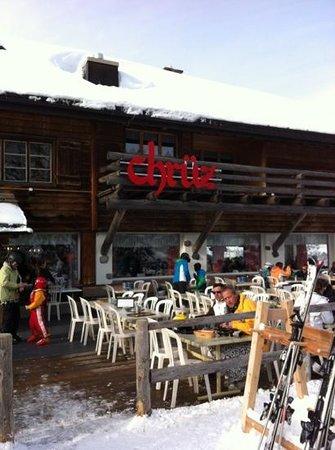 Chruz Das Bergrestaurant: Super Ferien am Flumserberg auch mit Geri von Ex-klostertalern es war Super