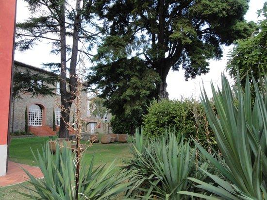 Villa Cassia di Baccano: Jardin