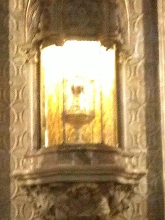 Capilla del Santo Grial: il presunto Santo Graal