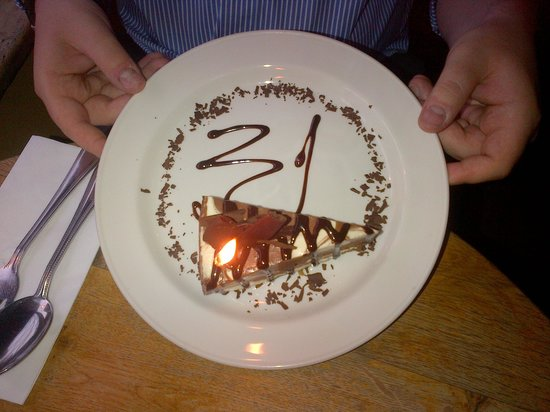 Vintner: Dessert for my Husband's birthday x