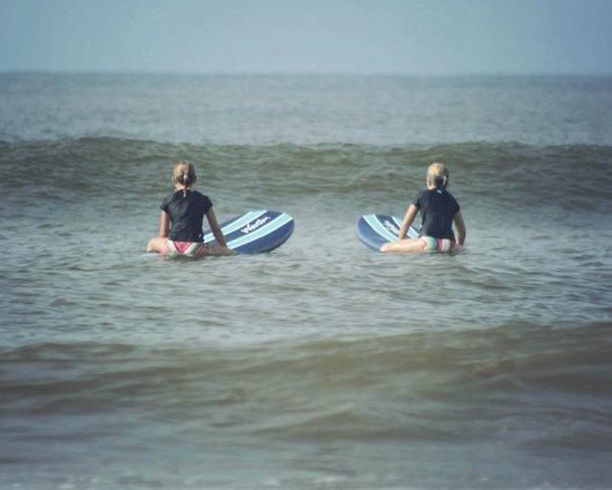 Carolina School of Surf: LilyAnna & Maggie