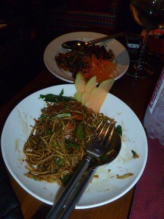 Thai Pavilion : The vegetable Pad Mee