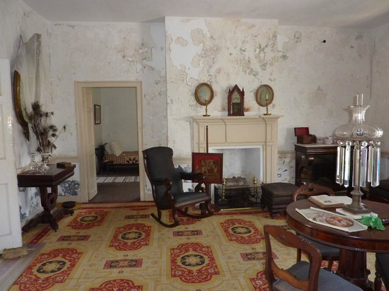 The Ximenez-Fatio House: Inside one of the rooms