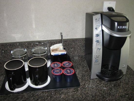Pinnacle Hotel At The Pier : Kerig coffee machine