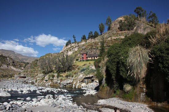 Colca Lodge Spa & Hot Springs - Hotel : Panorama suite is the red one on the left.
