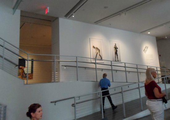 Bronx Museum of the Arts: going up
