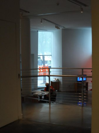 Bronx Museum of the Arts: view from the bridge