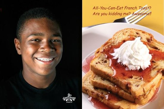 Great Harvest Bread Co.: All you can eat french toast 6:30-10:00 a.m.
