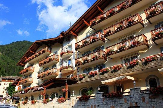 Hotel Alla Rosa: Arrivo all'albergo