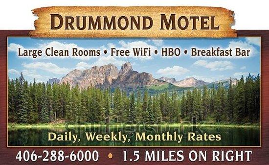 Drummond Motel : Our Billboard